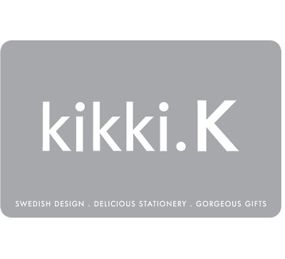 Kikki.K Gift Card $25 $50 or $100 - Email Delivery