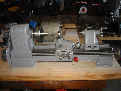 """Craftsman Atlas 109 6"""" Metal Lathe and Motor with New Spindle"""