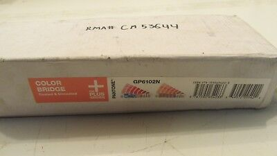 Pantone Plus Series GP6102N COLOR BRIDGE (Coated & Uncoated) 1845 Colors (I2)