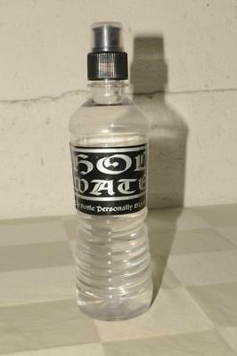 1990s Vintage OZZY OSBOURNE Personally Blessed UN-HOLY WATER Bottle ELTON SPRING