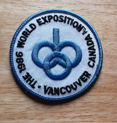 1986 Vancouver Canada World Exposition Patch
