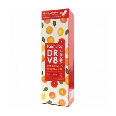 [FARM STAY] DR-V8 Vitamin Brightening Peeling Gel - 150ml / Free Gift