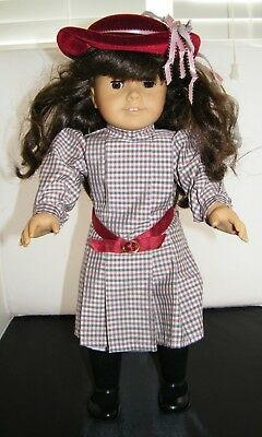 """American Girl Pleasant Company 18"""" Doll Samantha with West Germany Meet Dress"""
