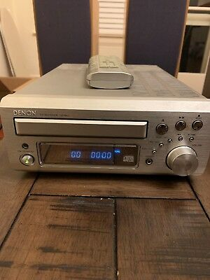 DENON UD-M31 Compact Audio Hi-Fi Shelf System AUX input FM AM CD W/remote/speake