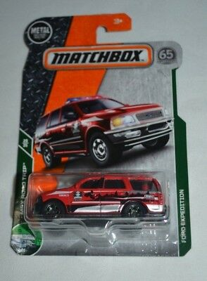 Matchbox 2018 Ford Expedition MBX Road Trip 110 neu in OVP