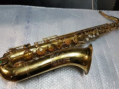 60's ELKHART by BUESCHER 30 A TENOR SAX / SAXOPHONE - made in USA