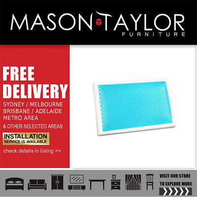 Mason Taylor Giselle Bedding Gel Top Memory Foam Pillow