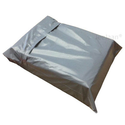 "50 - 13""x 19"" Grey Poly Mailer Plastic Postage Packing Postal Bags Special Off"