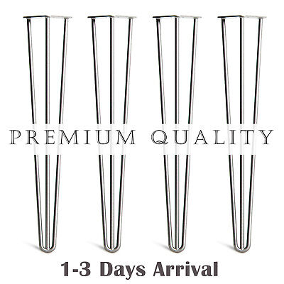 Premium Hairpin Table Legs (x4) | Hairpin Legs| 10 - 71 CM | 1 TO 3 DAYS ARRIVAL