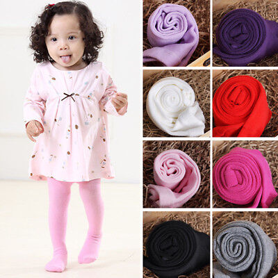Solid Color Baby Toddler Infant Kids Girls Warm Tights Stockings Pantyhose