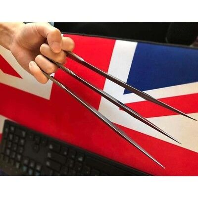 1 Pair X-Men Wolverine Claws Logan Paws Cosplay Props ABS Plastic New Version