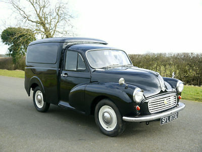 1969 Austin Morris Minor 6 CWT Van. Less Than 1,000 Miles In Last 10 Years.