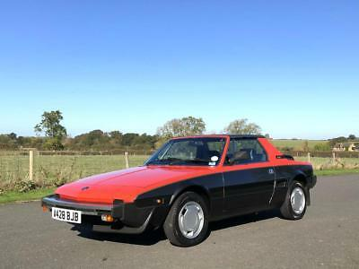 1984 Fiat X1/9 VS. Only 19,000 Miles From New.