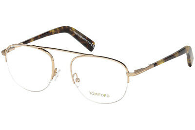 60dcec5231 Authentic Tom Ford FT5450 - 28B Eyeglasses Shiny Rose Gold  NEW  49mm