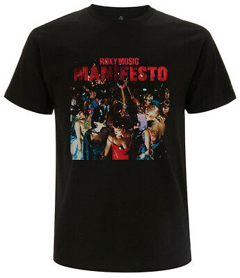 Roxy Music 'Manifesto' T-Shirt - NEW & OFFICIAL!