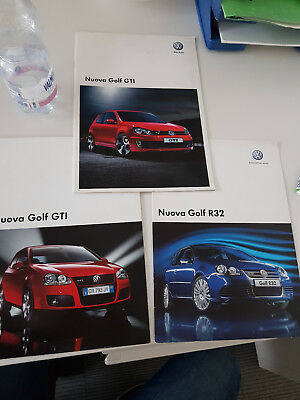 Lotto Cataloghi   Depliant  Golf Gti  - R32