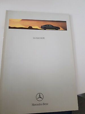 Catalogo  Depliant  Mercedes Clk Coupe 1999