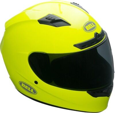 Bell Qualifier DLX MIPS Solid Hi Viz Yellow With Transitions Visor