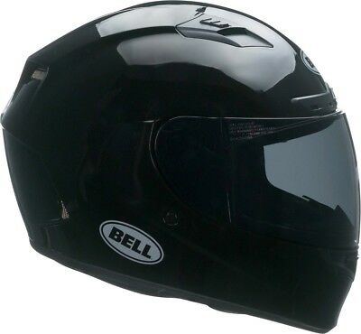Bell Qualifier DLX MIPS Solid Gloss Black With Transitions Visor
