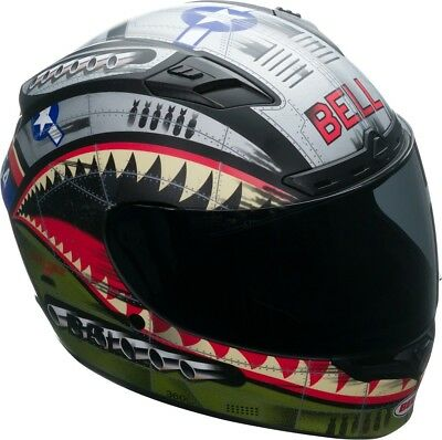 Bell Qualifier DLX MIPS Devil May Care Matt Green Silver With Transitions Visor