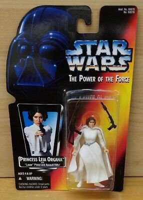 Star Wars: Power of the Force Princess Leia Organa with Laser Pistol and Rifle