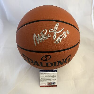 online store a8355 1590b MAGIC JOHNSON SIGNED Basketball PSA/DNA Los Angeles Lakers autographed