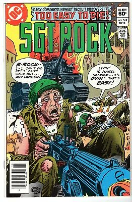 Sgt. Rock #369, Near Mint Minus Condition