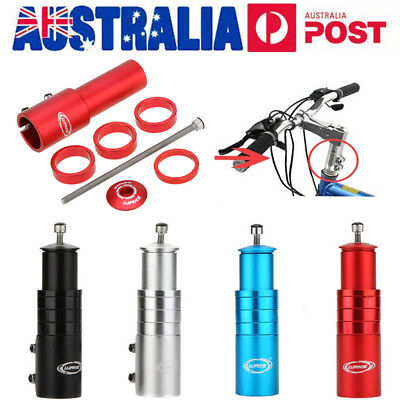 MTB Road Bike Bicycle Fork Stem Extender Handlebar Riser Head Up Adapter AU Ship