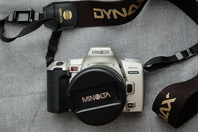 MINOLTA DYNAX 404Si 35mm SLR FILM CAMERA w/ MINOLTA AF 28-80mm LENS
