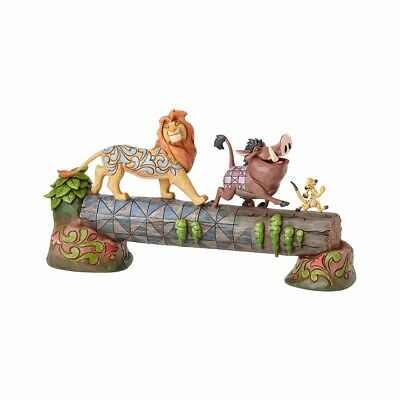 Jim Shore Disney Traditions SIMBA TIMON & PUMBAA Figurine Carefree Camaraderi...
