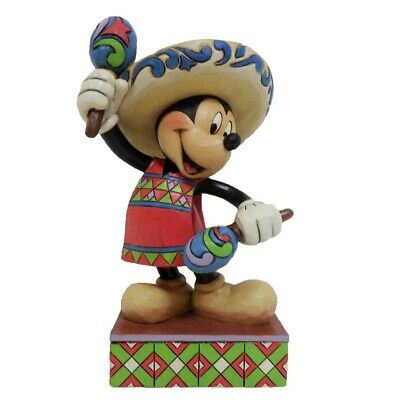 Jim Shore Disney Traditions - Mickey Around The World - Greetings From Mexico