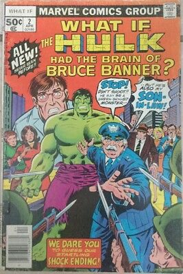 What If Hulk Had The Brain Of Bruce Banner? #2 Fn Cents Copy