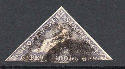 Cape of Good Hope 6 Pence Stamp c1855-63? Used
