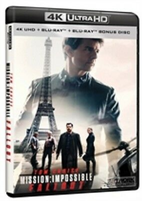Mission: Impossible - Fallout (4K Ultra HD + Blu-Ray Disc + Bonus Disc)