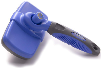 Zirk Self Cleaning Slicker Brush For Dogs And Cats - Easy To Clean Pet E3