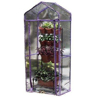 Green House Mobile Green Wall Violet  Nursery Gardening Accessories Lawncare New