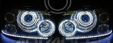 ORACLE Range ROVER SPORT MK1 05 WHITE LED Headlight RINGS Halo Angel Demon Eyes