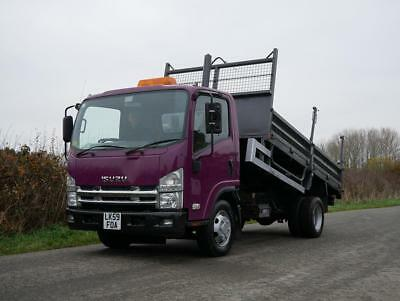 ISUZU NPR N75 190 4 X 2 Double Drop Side Tipping Body