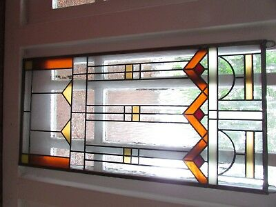 Stained Glass Window..mission style ...new...two available