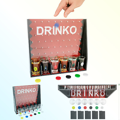 DRINKO Shot Glass Drinking Game DRINKO
