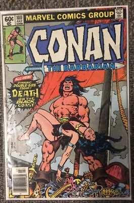 Conan the Barbarian #100 and #275 - Marvel