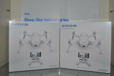 Yuneec Breeze Drone With 4K Camera Bluetooth Controller Included NIB