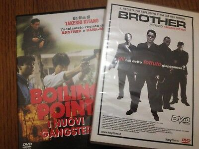 Lotto 3 Dvd Takeshi Kitano Brother Outrage Coda Boiling Point I Nuovi Gangster