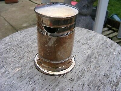 Antique Novelty Post Box Sugar Dispenser