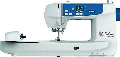 EverSewn Sparrow X -Next Generation Sewing and Embroidery Machine, White