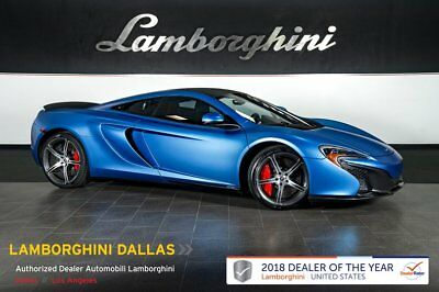 2015 McLaren 650S  HUGE MSRP+NAV+REAR CAM+VEHICLE LIFT+sSTORM GRAY+CARBON CERAMIC BRAKES+MERIDIAN