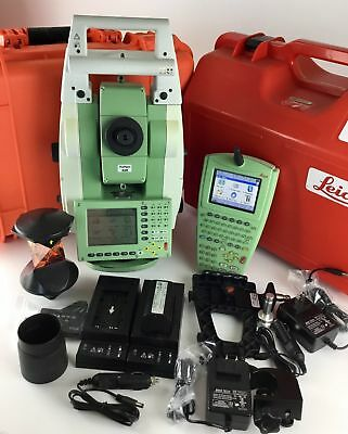 "Leica TCRP1203 R300, 3"" Robotic Total Station with RX1250TC Data Collector"