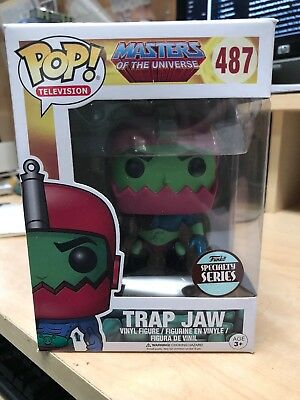 Funko Pop! Television Masters Of The Universe #487 Trap Jaw Specialty Series