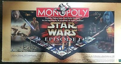 Monopoly Star Wars Episode 1 Collectors Edition - 3D Board Game 1999