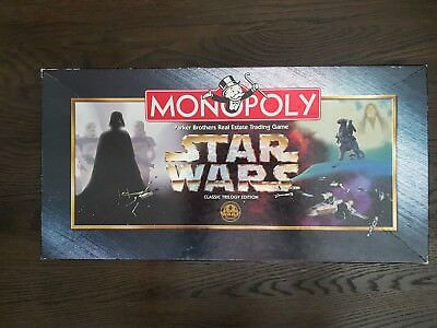 MONOPOLY STAR WARS 1997 100% complete